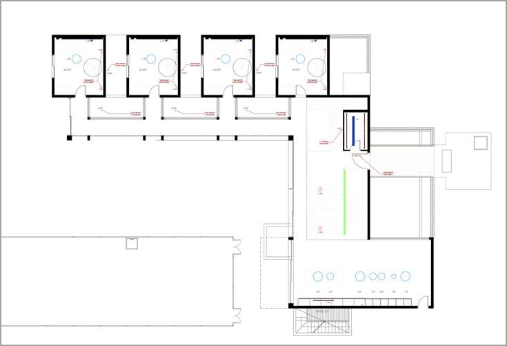 תוכנית הקומה התחתונה של הבית (באדיבות נסטור אדריכלים)