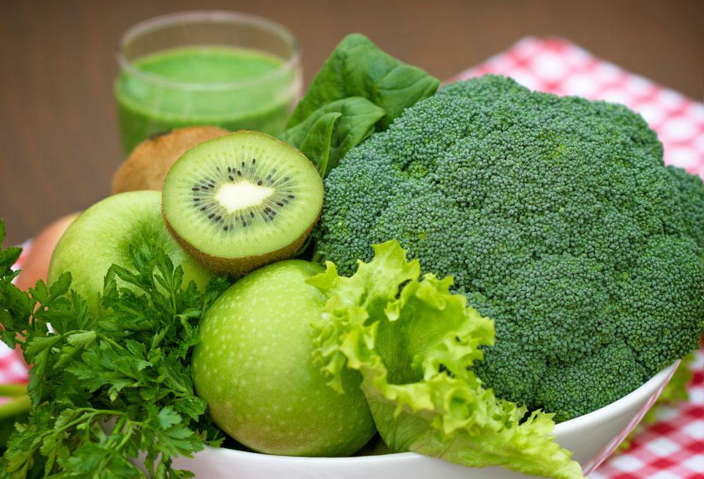 לירקות ופירות ירוקים אנרגיה מקררת יותר (צילום: thinkstock)