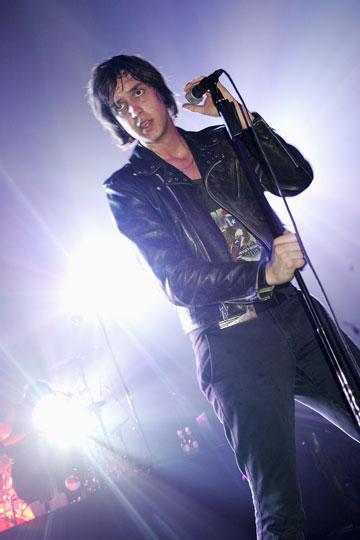הבן ג'וליאן קזבלנקס מלהקת The Strokes (צילום: gettyimages)