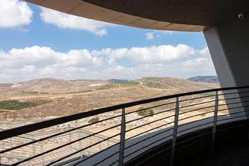 בלב ''ארץ ישראל השלמה'' (צילום: איל תגר)