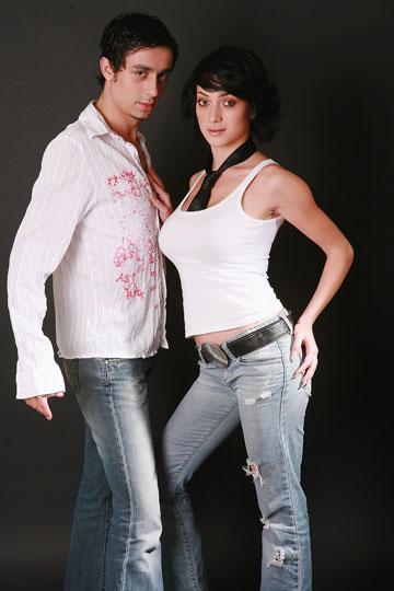 """גנבה את ההצגה ב""""רוקדים עם כוכבים"""". אנה ארונוב, 2005 (צילום: שרון בק)"""