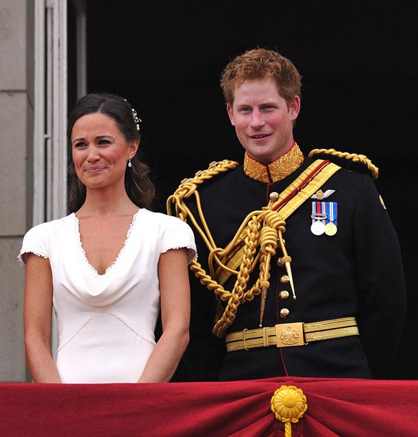 קלי דעת וחובבי מסיבות. הנסיך הארי ופיפה מידלטון בחתונת אחיהם, 2011 (צילום: gettyimages)