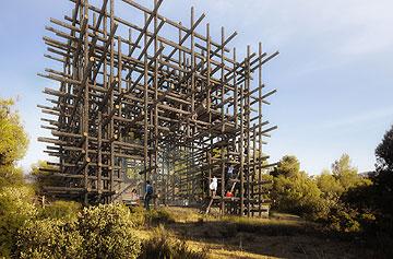 יער העצים של פוג'ימוטו (Courtesy of Architecture de Collection)