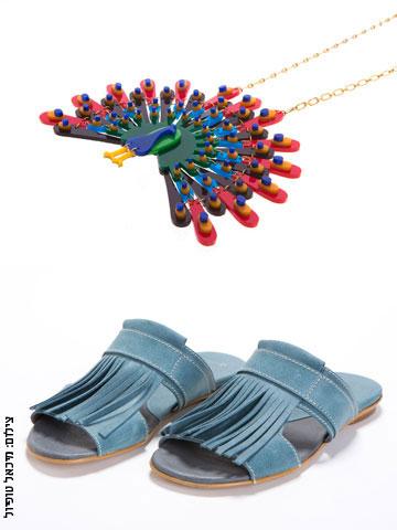 שוק האקססוריז. אביזרי אופנה וטקסטיל של 65 מעצבים ומותגים