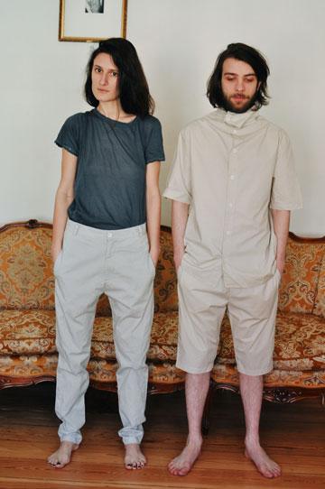 מאיה בש. בגדים שמתאימים לשני המינים (צילום: דוד מצחי)