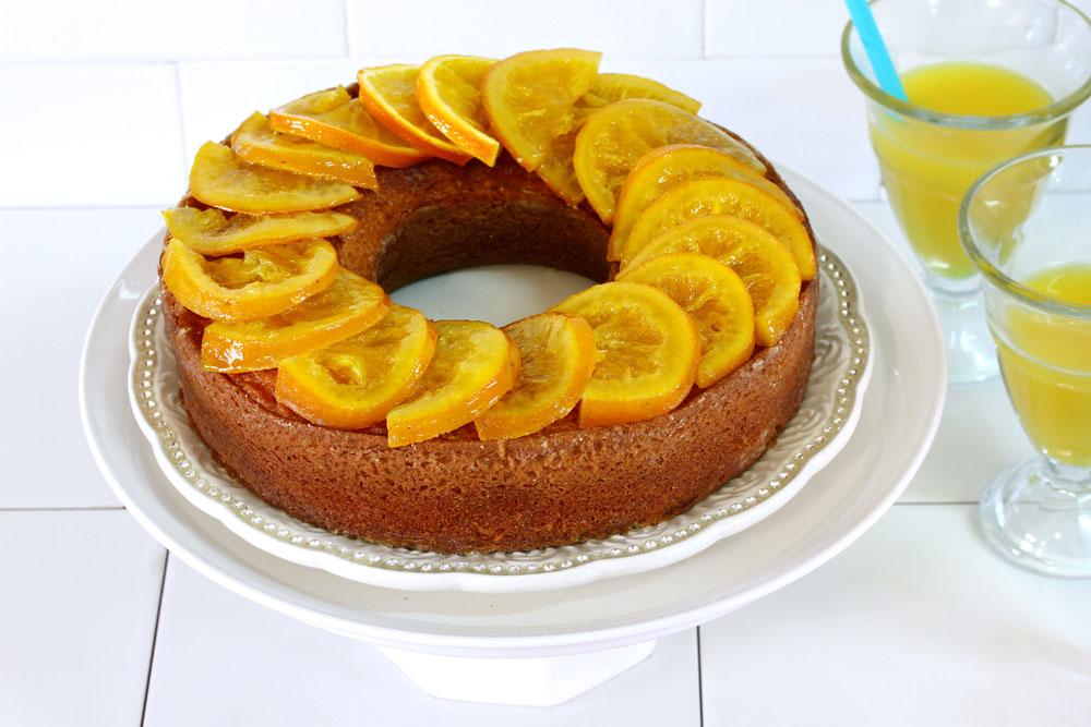 עוגת תפוזים בחושה (צילום: אסנת לסטר)