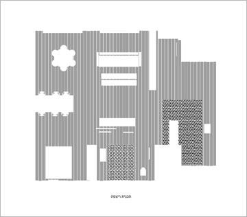 תוכנית הרצפה של הדירה (תכנית: סטודיו הנקין שביט)