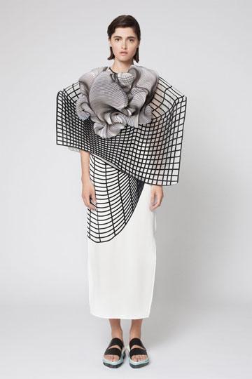 """נעה רביב. זוכת הפרס ע""""ש מעצבת האופנה פיני לייטרסדורף (צילום : דודי חסון)"""