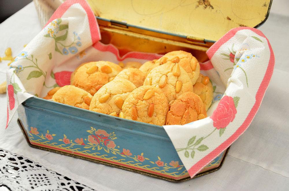 עוגיות שקדים איטלקיות (צילום: חני הראל)