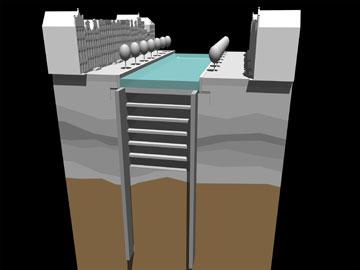 וכך מציעים להכשיר שטחים מתחת לאדמה בבירת הולנד (הדמיה: zwarts and jansma architects)