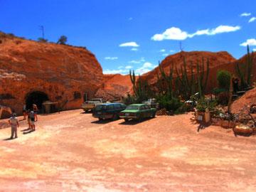 החום מבריח את תושבי קופר פידי אל מתחת לאדמה (צילום: FlyinRoo, cc)