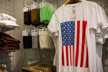 אמריקן אפרל. סגנון אמריקאי שמיוצר באמריקה (צילום: gettyimages)