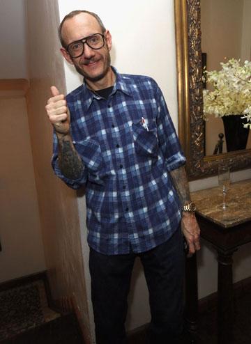 המשקפיים הפכו לסימן ההיכר שלו. טרי ריצ'רדסון (צילום: gettyimages)