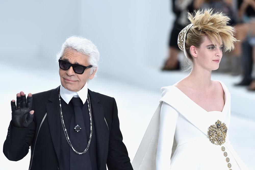 במקום הראשון ברשימת שיאני השכר של עולם האופנה: קרל לגרפלד, המרוויח על פי הדיווחים מפנדי ושאנל יחד 30 מיליון דולר בשנה (צילום: gettyimages)