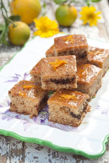 עוגת תפוזים וקוקוס (צילום: כפיר חרבי, סגנון: דריה קרגולה)