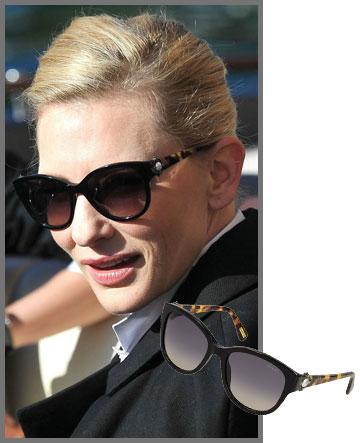 קייט בלאנשט אלגנטית במשקפי שמש של לנוון (2,000 שקל) (צילום קייט בלנשט: splashnews/asap creative)