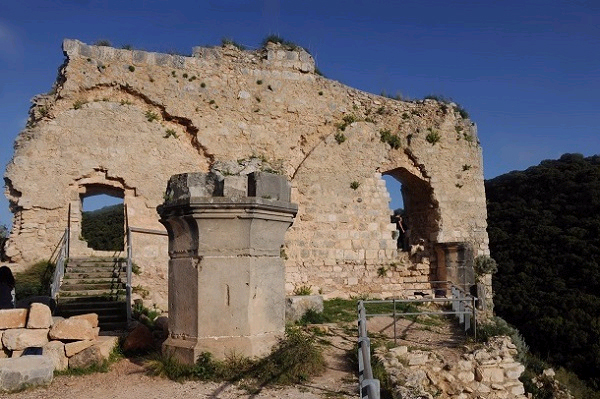 אחד המבצרים הצלבניים היפים בארץ (צילום: עמיקם חורש, באדיבות אוצרות הגליל)