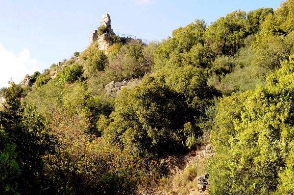 מבצר המונפורט. העלייה קשה אך משתלמת (צילום: עמיקם חורש, באדיבות אוצרות הגליל)