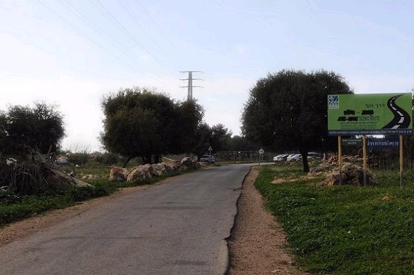ממשיכים לכיוון מערב עד למגרש חנייה גדול ושם מחנים את הרכב (צילום: עמיקם חורש, באדיבות אוצרות הגליל)