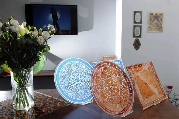 עבודות יפיפיות בזכוכית. אומנות שהחלה בתקופה הפיניקית (צילום: עמיקם חורש, באדיבות אוצרות הגליל)