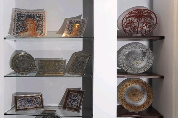 מרכז המבקרים בו ניתן לרכוש את עבודות האומנות והיודאייקה במחירים זולים ממחירי השוק (צילום: עמיקם חורש, באדיבות אוצרות הגליל)