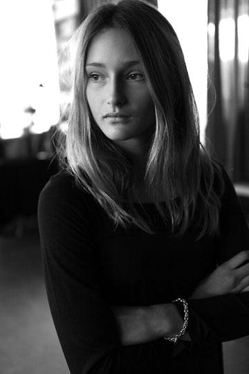 """ליתאי מרכוס בטסט הראשון שצילם גולי כהן: """"בנוסף ליופי החיצוני שלה יש בה משהו נוסף, חמקמק, עתיר בשכבות, כזה שהופך אותה לדוגמנית מעניינת"""" (צילום: גולי כהן )"""