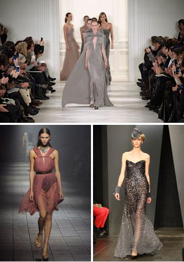 תצוגות אופנה של ראלף לורן, דונה קארן ולנוון (צילום: gettyimages)