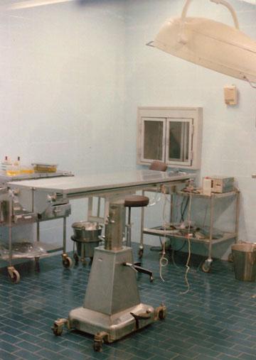 אחרי השיפוץ: בניסיון להעלות את רמת הרפואה ברצועה (צילום: גרשון צפור, אוסף גרשון צפור, ארכיון אדריכלות ישראל )