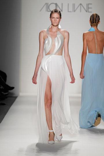 תצוגה של אלון ליבנה בשבוע האופנה בניו יורק