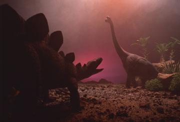 בניית דיורמה של דינוזאורים (צילום: thinkstock)