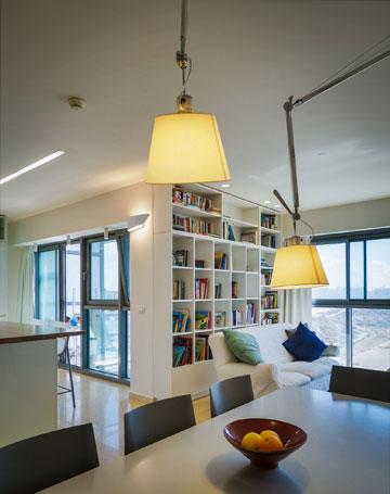 הדירה במרינה בהרצליה (צילום: איתי סיקולסקי)