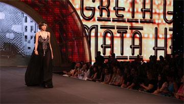 הבמה המרכזית מארחת תצוגות אופנה, הדרכות איפור ומייקאוברים  (צילום: אלי סטרול)