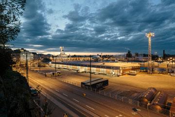 אזור דרום הנמל, שבו אמור המוזיאון להיבנות (צילום: Tuomas Uusheimo)