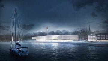 ההצעה האוסטרלית-ספרדית: מוזיאון שמתייחס לעונות השנה (הדמיה: SMAR Architecture Studio)