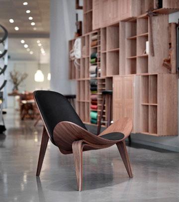 עיצוב דני מקורי מאמצע המאה הקודמת (באדיבות CARL HANSEN & SØN)