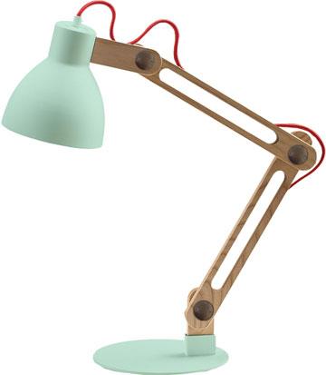 לחדר השינה. מנורת שולחן ברינר