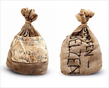שקית העפר משני צדיה (צילום: עדי אדר)