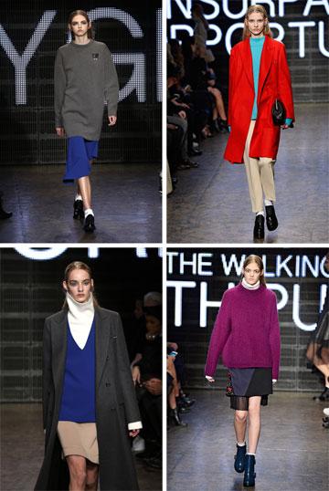 תצוגת סתיו-חורף 2015-16 של DKNY. המותג המשני ימשיך לפעול תחת המעצבים הצעירים דאו-יי צ'או ומקסוול אוסבורן  (צילום: gettyimages)