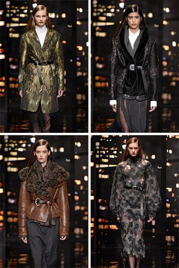 """תצוגת סתיו-חורף 2015-16 של דונה קארן. """"ריזורט יהיה האוסף האחרון של בית האופנה, ומנקודת המבט שלי – זה היה יכול להיות בסתיו שעבר"""" (צילום: gettyimages)"""