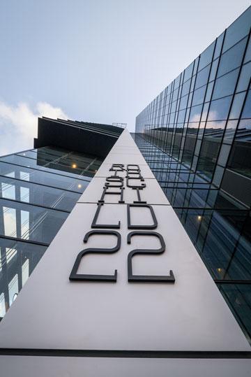המיקום: קומות 21-24 במגדל הזה (צילום: איתי סיקולסקי)