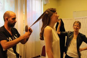 מאחורי הקלעים: רחל כהן מהמותג קומון רבן (צילום: איל בן משה, 2team video production)