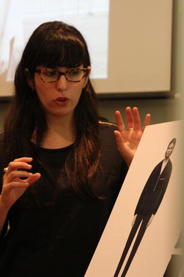 בדרך לשבוע האופנה: רותם גואטה מהמותג Hannah (צילום: איל בן משה, 2team video production)