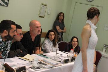 """מי יציג במסגרת תצוגת ה""""אפ-קאמינג"""" של שבוע האופנה גינדי?  (צילום: איל בן משה, 2team video production)"""