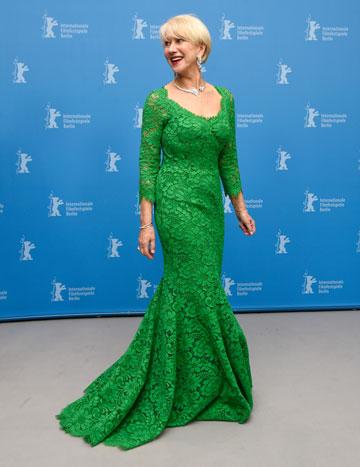 הקלף המנצח של מירן: שמלות תחרה (צילום: gettyimages)