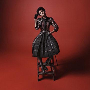 אייקון אופנה בגיל 14. ווילו סמית' בקמפיין של מארק ג'ייקובס (צילום: דיוויד סימס)
