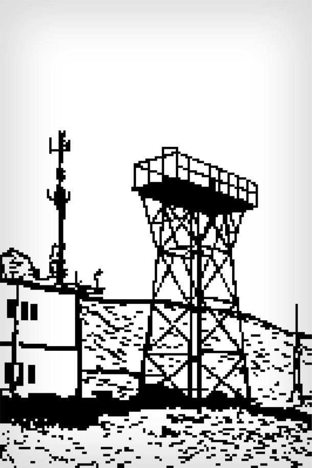 התנחלות ברוש-הבקעה, באופן שמזכיר את יישובי חומה ומגדל (צילום: עומר בן צבי)
