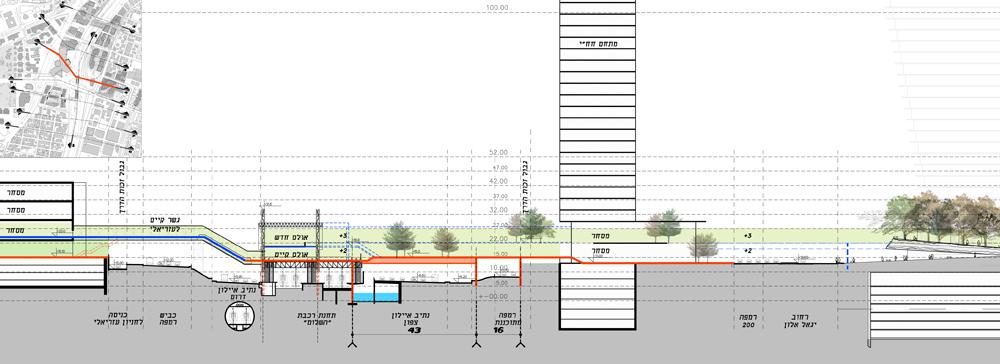 """(תכנון: לרמן אדריכלים ומתכנני ערים בע""""מ)"""