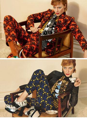 מיו מיו. האיט גירל הנצחית קלואי סוויני חוזרת לדגמן עבור בית האופנה