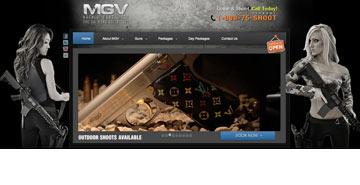 האקדחים של חברת הנשק Machine Guns Vegas
