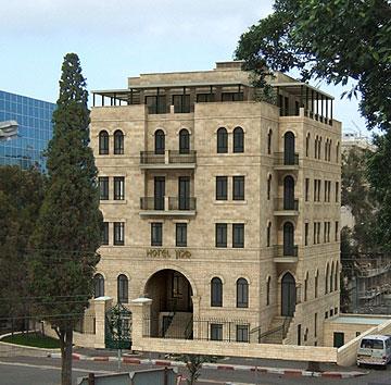 מלון ''אטלס'' בחיפה, שייפתח באוקטובר (באדיבות רשת ''אטלס'')